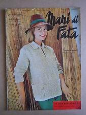 Mani di FATA n°3 1963 con cartamodelli - rivista di lavori femminili  [C56]