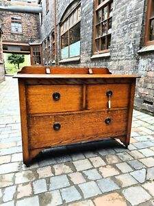 Early-mid Century Oak Chest Of Drawers