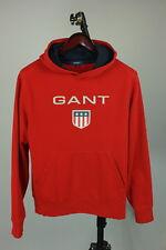 GANT Men's MEDIUM Front Logo Soft Cotton Blend Hooded Jumper / Hoodie RCS9325