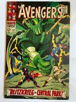 Avengers #45 - Iron Man Thor Captain America Marvel Comics