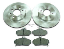 MINTEX REAR DISCS AND PADS 260mm FOR ROVER 800 2.0 TURBO 1991-00