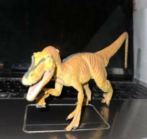 "Carnegie Safari Ltd Velocirap Dinosaur Toy Figure Prehistoric Collectible 10"""