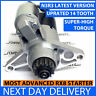 MAZDA RX8 STARTER MOTOR UPRATED 2.2kW 2003-12 HIGH TORQUE 14-TOOTH N3R3  MANUAL