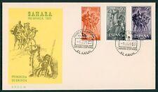 SAHARA FDC 1963 FAUNA TIERE KAMEL DROMEDAR ANIMALS CAMEL cl36