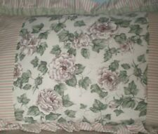 JCPenney Glynda Turley Romancing the Home Decorative Pillow Ruffled Roses Ivy