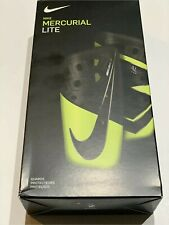 Nike Mercurial Lite Soccer Shin Guards Armory Black Yellow Large L