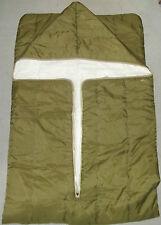 Bundeswehr saco de dormir 60er años ejército saco de dormir Olive camping sleeping bag