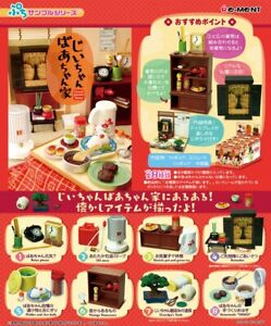 Re-Ment Miniature Grandparents Room Vintage Furniture Electrical Full Set Rement