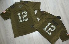 England Patriots brady Salute to U.S. Army camiseta NFL Jersey talla L