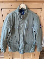 HENRI LLOYD Khaki  Coloured Utility coat SIZE L Parka/Barbour Styles