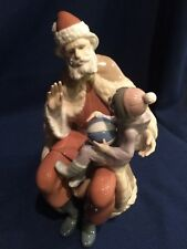 "EXCELLENT LLadro ""A Christmas Wish"" #5711 Papa Noel Santa Claus reduced"
