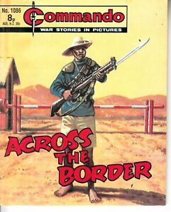 COMMANDO COMIC - No 1086   ACROSS THE BORDER