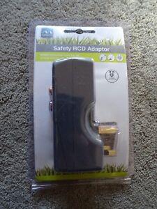 Masterplug Safety Rcd Adaptor New