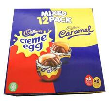 Cadbury Creme Eggs and Caramel Eggs Mixed 6x6 Pack 474g cream easter novelty