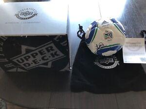 LANDON DONOVAN Autographed MLS Adidas Soccer Ball UDA LE 2/10