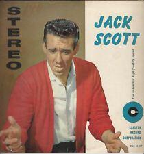 "Jack Scott ""Jack Scott"" Carlton STEREO LP 12/107 ""My True Love"" ""Goodbye Baby"""