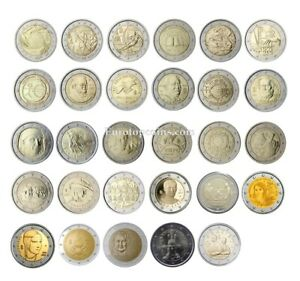 #RM# 2 EURO COMMEMORATIVE ITALY (2004-2021) -  ALL PIECES - PLEASE CHOOSE