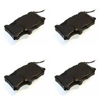 4x Double iPhone Speaker For DCC Sound. For Loksound 4 5 Zimo Decoders 4 Ohm