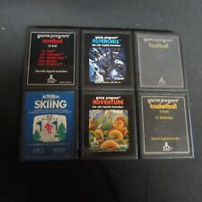 Atari 2600 Games Basketball, Basketbal, Skiing, Asteroids, Adventure, Combat(K5)