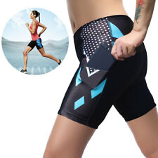 Women Sports Compression Shorts Trousers Athletic Gym Fitness Yoga Running Pants