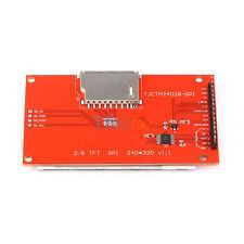 """2.8"""" TFT LCD 240x320 Touch Panel SPI Serial Port Module 5V/3.3V avec PCB ILI9341"""