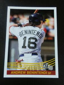 Andrew Benintendi-2018 Donruss Baseball-1984 Reprint-nrmt/mt/8-no.227-Redsox