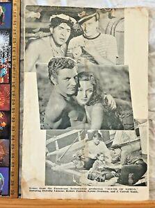 VINTAGE 1941 WINTER GARDEN BRISBANE MOVIE BROCHURE SOUTH OF SAMOA DOROTHY LAMOUR