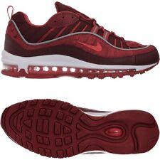 Nike W Air Max 98 SE rot Herren Low-Top Leder Sneakers Retro Freizeitschuhe NEU