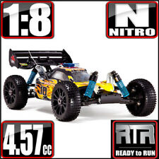 Redcat Racing Hurricane XTR 1/8 Scale Nitro Buggy 4WD RTR Yellow / Flame