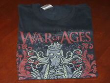 War Of Ages - Rock Band T-Shirt  SIZE SMALL Christian Metal Band