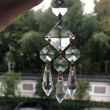 Magic Crystal Chandelier Hanging Pendant Prisms Garden Window Decor Suncatcher