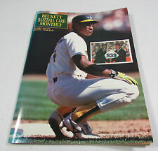 Beckett Baseball Card Monthly Price Guide April 1991 #73 Rickey Henderson