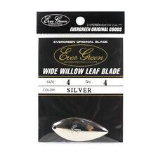 Evergreen Original Lure Wide Willow Blade Silver 4 (6349)