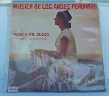S615 MUSICA DE LOS ANDES PERUANOS VOL II MUSICA DEL CUZCO SONO RADIO