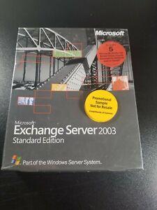 Microsoft Exchange Server 2003 Standard 5 CAL .SEALED
