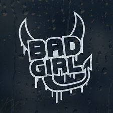 Bad Girl Diable Autocollant Vinyle Autocollant Voiture