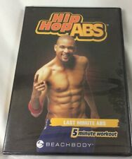 HIP HOP ABS DVD, Shaun T Fitness, Workout Complete NEW Last Minute 5 Sealed