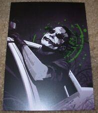 JOKER heath leger BATMAN Art 4X6 Postcard like poster print MARK REIHILL