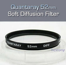 Quantaray 52mm Soft DIFFUSION~PORTRAIT Filter+Case~SOFT EDGE~SOFTENING Smoothing