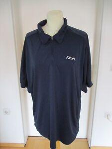 Reebok Funktions-Poloshirt dunkelblau Gr. XL