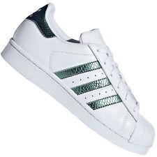 adidas Originals Superstar Junior Kinder Damen Sneaker Schuhe Schimmer Metallic