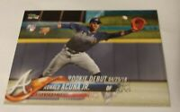 2018 RONALD ACUNA JR Topps Update ROOKIE RC Card #US252 MINT Atlanta Braves