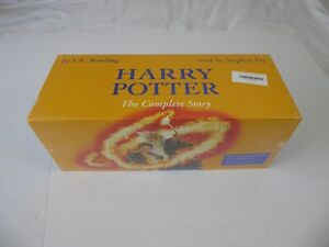 HARRY POTTER THE COMPLETE AUDIO CD COLLECTION