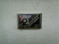 Vintage Audio Cassette BASF Chrome Super 60 * Rare From Germany 1991 *