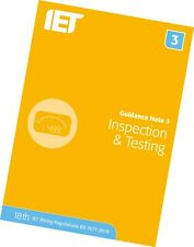 IET Guidance Note 3: Inspection and Testing 8th Edition (NEW 2018) - BS 7671