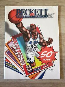 Beckett Basketball Monthly September 1994 Issue #50 Shaquille O'Neal
