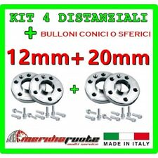 KIT 4 DISTANZIALI PER SMART FORTWO 2 451 2007 - 2013 PROMEX ITALY 12 mm + 20mm *
