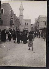 Place de la Basilique BethléemPalestine Israël Voyage en Moyen-Orient 1909