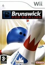 Brunswick Pro bolos Nintendo Wii PAL RU