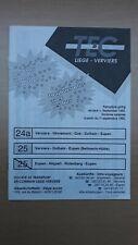 ▲ TEC Liège-Verviers -  1 guide horaire ligne 24a-25-25/, Eupen - Verviers